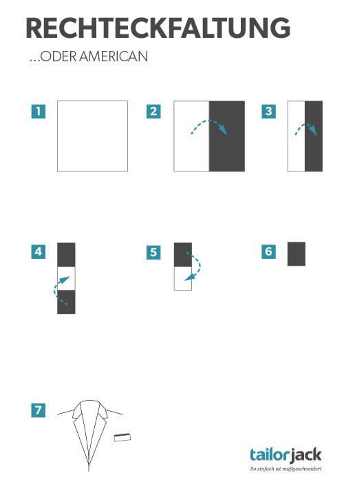 Relativ Falttechniken für Einstecktücher RG16