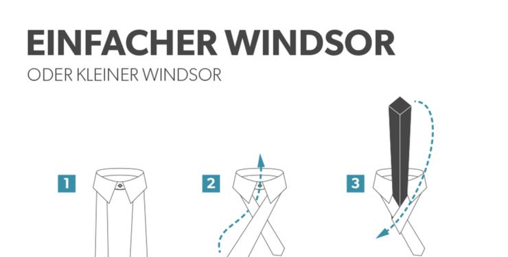 Einfacher Windsor Knoten Anleitung Zum Binden