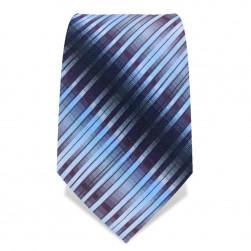 Krawatte 8,5 cm Artist Blue Stripe, Blau-Töne