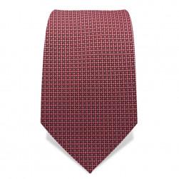 Krawatte 7,5 cm Webmuster, Altrosa / Rosa / Grau